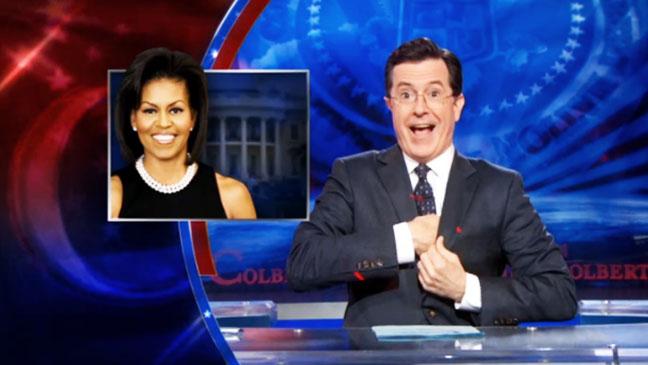 Michelle Obama Colbert Report - H 2012