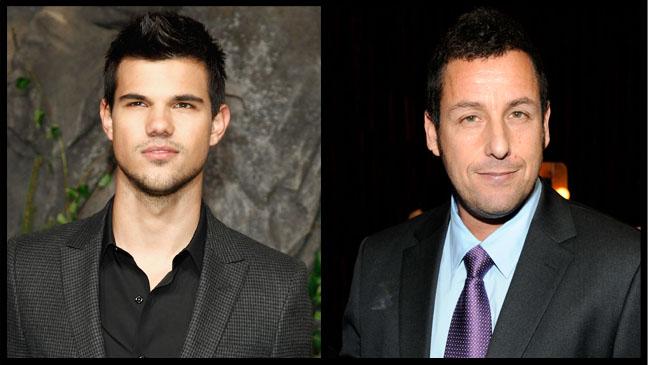 Taylor Lautner Adam Sandler Split - H 2012
