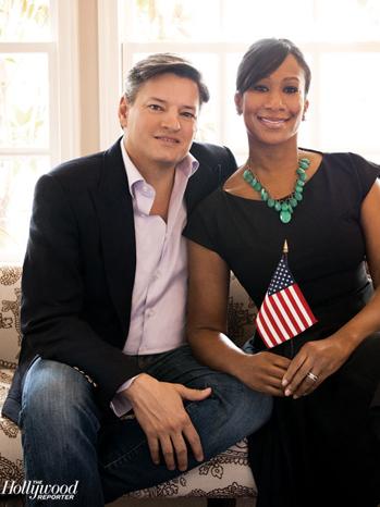 Ted Sarandos comamiga, mulher Nicole Avant