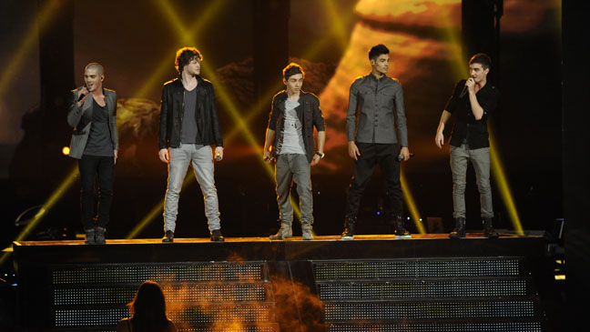 The Voice The Wanted Performance - H 2012