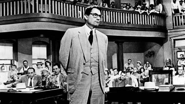 To Kill a Mockingbird Gregory Peck Court Room - H 2012