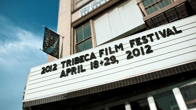 Tribeca Film Festival Marquee - H 2012
