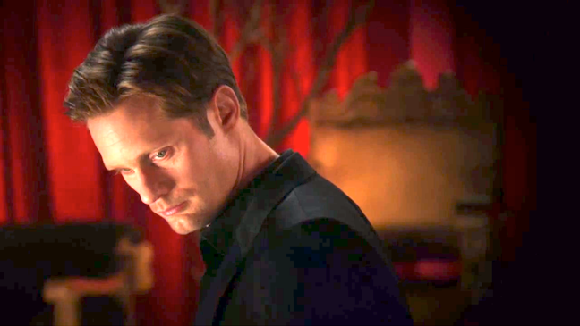 True Blood Alexander Skarsgard Screengrab 2012