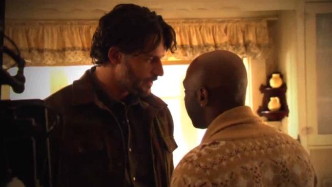 True Blood Joe Manganiello Nelsan Ellis Screengrab 2012