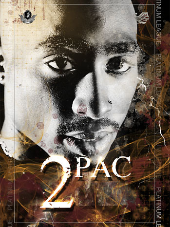 Tupac Trading Cards - P 2012