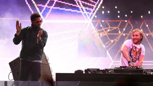 Usher David Guetta Coachella Performance - H 2012