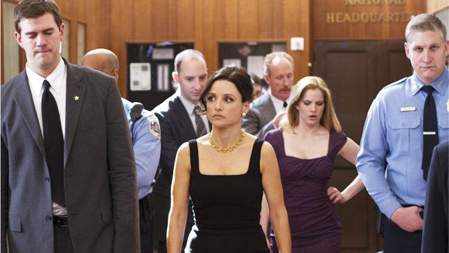 Veep Julia Louis-Dreyfus Walking with Cast - H 2012