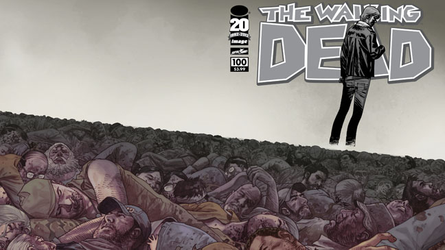Walking Dead Comic Cover - H 2012