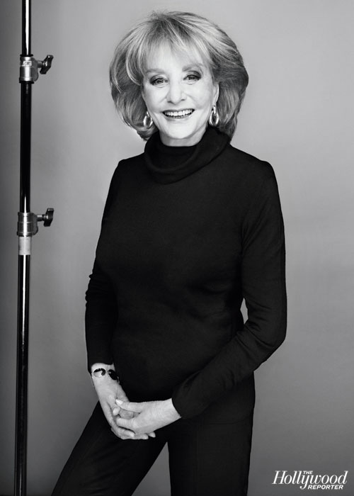 "Barbara Walters | April 3, backstage at ""The View"""