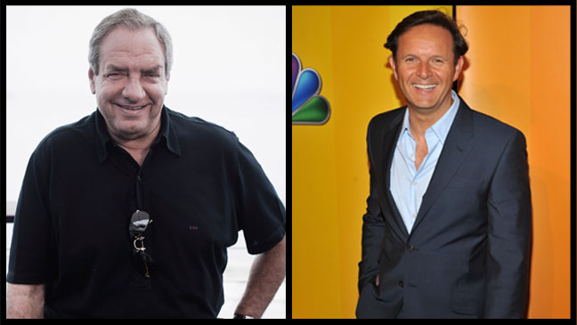 Dick Wolf & Mark Burnett Headshots Split - H 2012