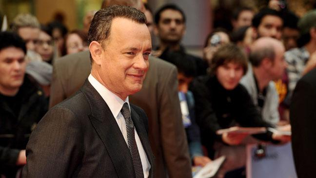 Tom Hanks Larry Crowne Premiere Press Line - H 2012