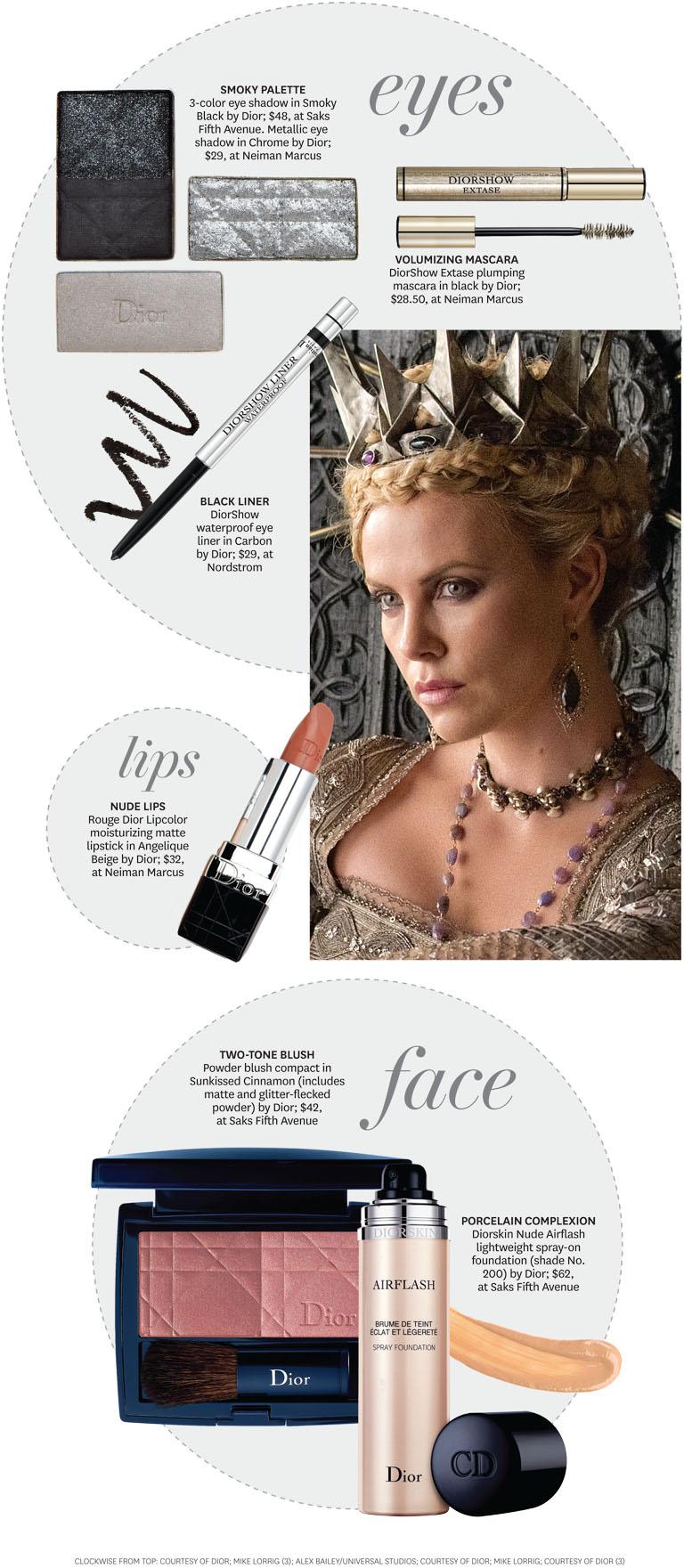 2012 - 20 STY Snow White Evil Queen Infographic iPad