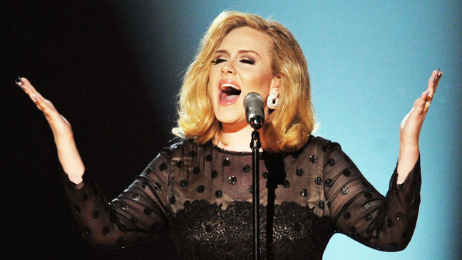 54th Grammy Awards Adele Performing- H 2012