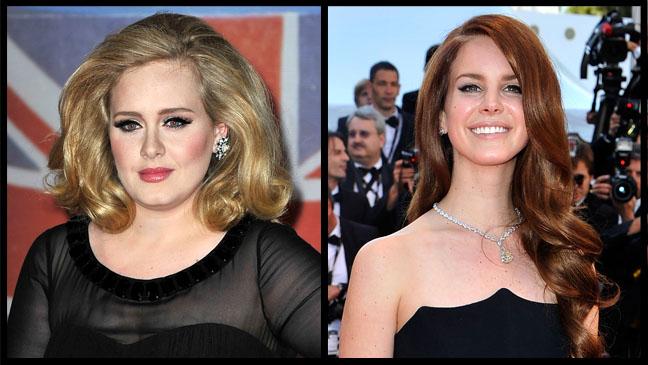 Adele Lana Del Rey - H 2012