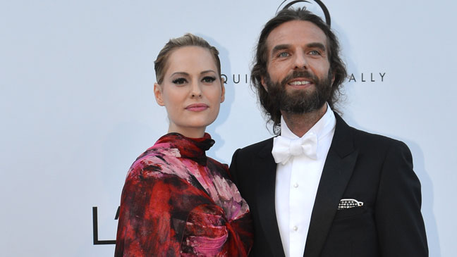 Aimee Mullins and John Nollet at Cannes 2