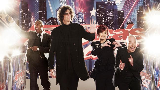 America's Got Talent Judges on carpet PR image - H 2012