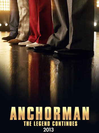 Anchorman 2 Poster - P 2012