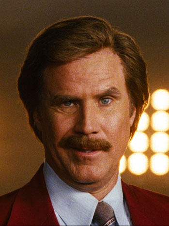 Anchorman 2 Ron Burgundy Will Ferrell - P 2012