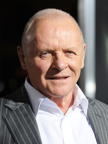 The Rite Premiere Anthony Hopkins Headshot - P 2012