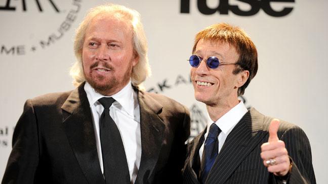 Bee Gees' Robin Gibb