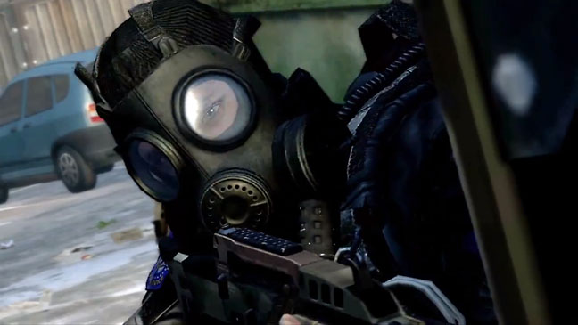 Call of Duty Black Ops 2 Gas Mask - H 2012