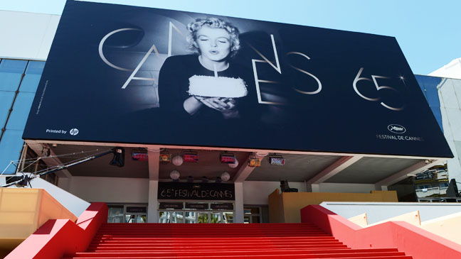 Scene at Cannes 65 Poster Exterior - H 2012
