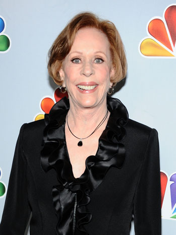 Carol Burnett Headshot - P 2012