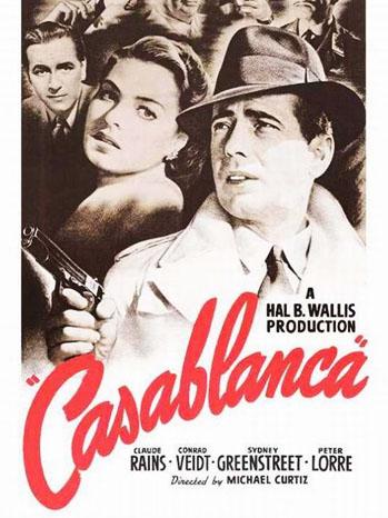 Casablanca Poster - P 2012