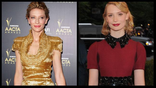 Cate Blanchett and Mia Wasikowska H 2012