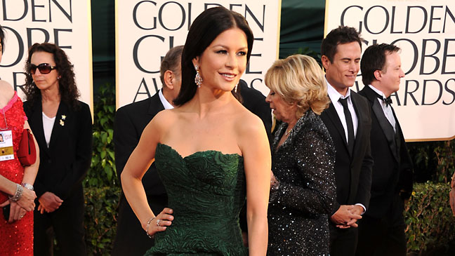 Catherine Zeta-Jones Golden Globes - H 2012