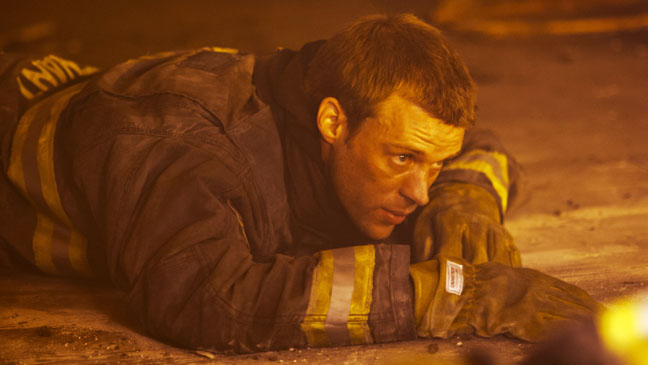Chicago Fire Pilot Firefighter on ground - H 2012