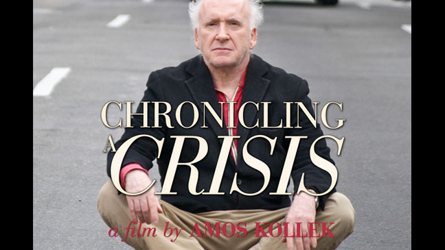 Chronicling a Crisis Poster Art - H 2012