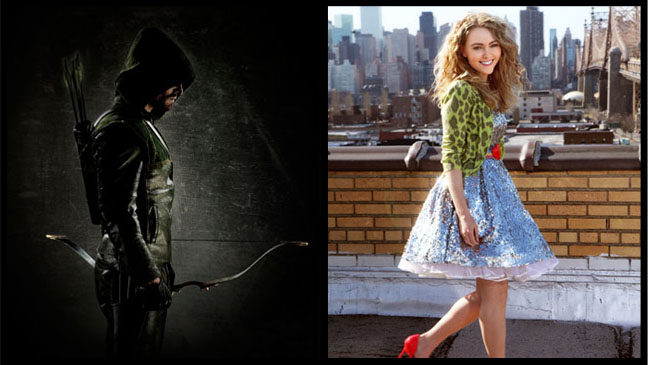 Green Arrow Carrie Diaries Split - H 2012