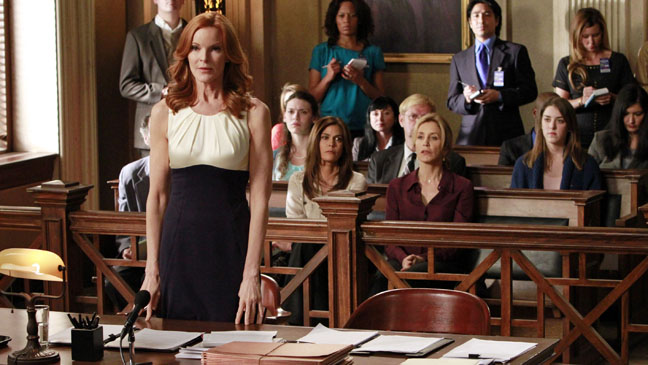 Desperate Housewives Court Room Finale - H 2012