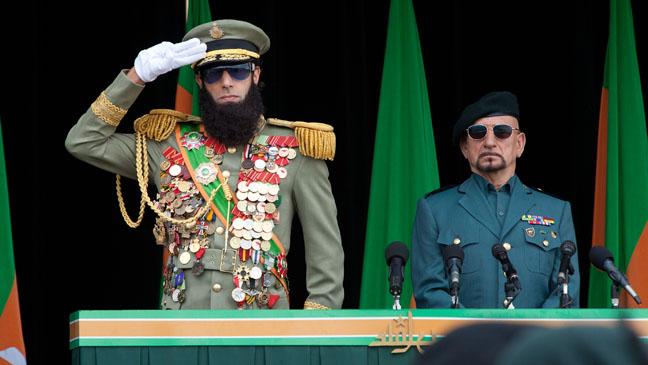 The Dictator at Podium - H 2012