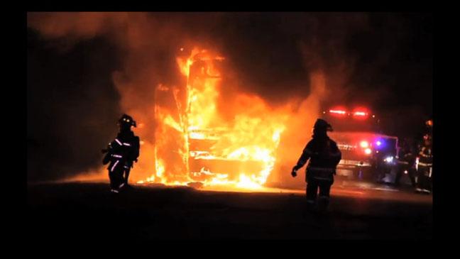 DJ Khaled Bus on Fire - H 2012