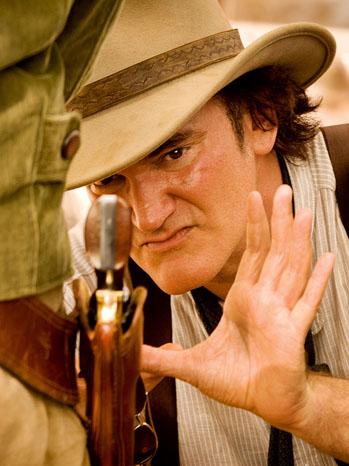 Django Quentin Tarantino Grabbing Gun - P 2012