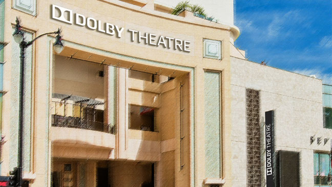 Dolby Theatre Illustration - H 2012