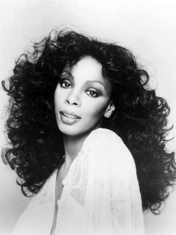 Donna Summer black and white UME P