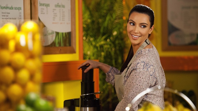 Kim Kardashian Drop Dead Diva 2012