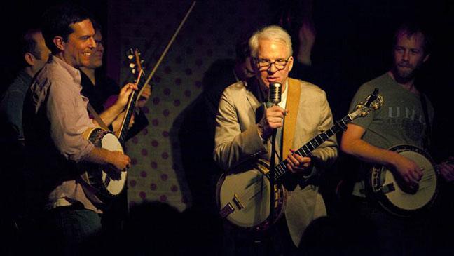 Ed Helms Steve Martin 2012