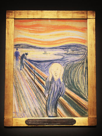 Edvard Munch's The Scream - P 2012