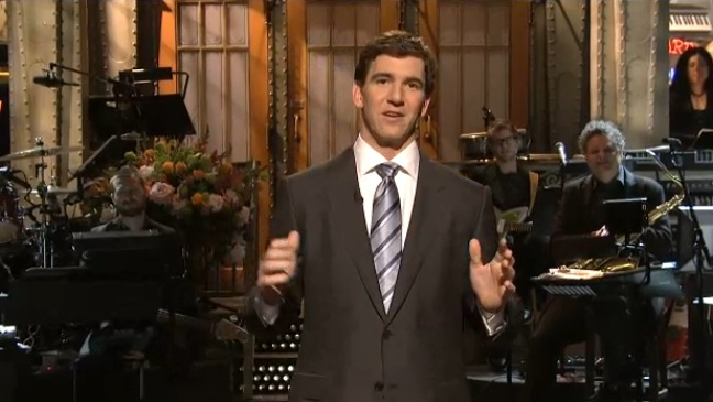 Eli Manning SNL 2012