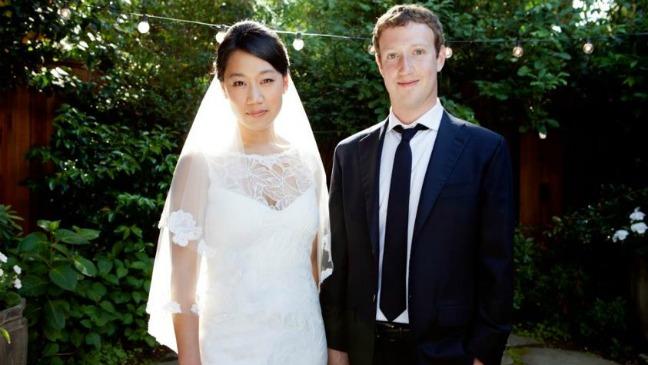 Mark Zuckerberg and Priscilla Chan Wedding 2012
