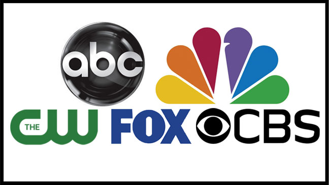 ABC NBC CBS CW FOX logo - H 2012