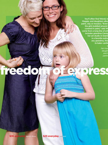 JCPenney Mother's Day Ad - P 2012