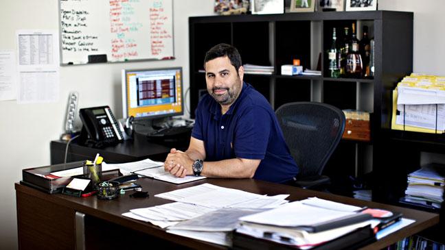Glen Basner at Desk H 2012