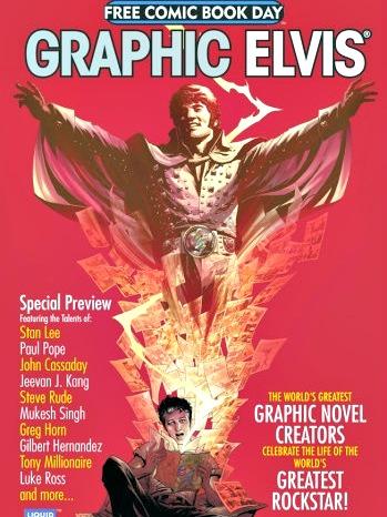 Graphic Elvis Free Comic Book Day