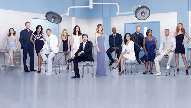 Grey's Anatomy Cast PR Image - H 2012