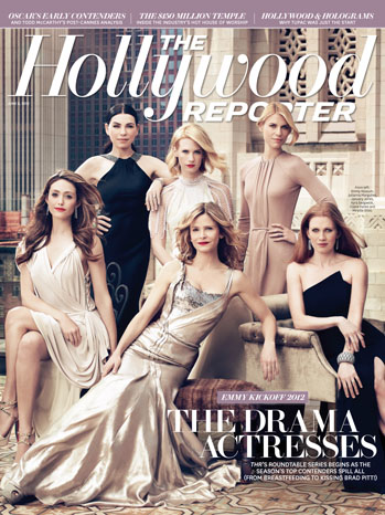2012 Issue 20: Emmys Roundtable With 6 Top TV Actresses